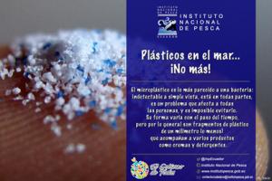 """Bajo el nombre: """"Plásticos en el mar… ¡No más!"""" el Instituto Nacional de Pesca empieza una campaña de comunicación que pretende sumar esfuerzos a las iniciativas mundiales que advierten sobre las graves consecuencias de la utilización indiscriminada de plásticos y microplásticos y de su acumulación en los mares del mundo."""