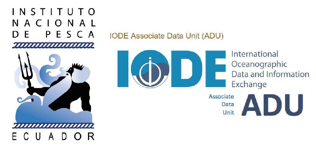 Instituto Nacional de Pesca ya forma parte de la Unidad de Datos Asociados (ADU), a traves del IODE, la Red Internacional de Intercambio de Informacion y Datos Oceanograficos