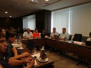 En este taller participaron por el INP los biólogos: Manuel Díaz, Carmen Cabanilla, Esteban Elías y Marco Herrera Cabrera.