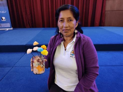 Para comunicarse con Rocío Reinoso Mite, Pdta. de la Asociación de Mujeres Artesanas Cerro Porteño de Puerto Bolívar puede llamar a los teléfonos: 0995282369 – 6000089.