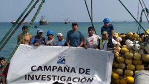 Participantes del Crucero de Investigación