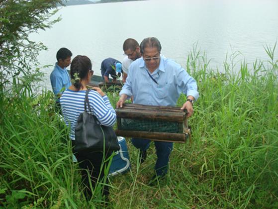15 de febrero de 2021 inicia la veda pesquera en los embalses Chongon y La Esperanza