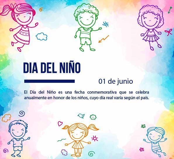 1. Dia del niño (01 de junio)