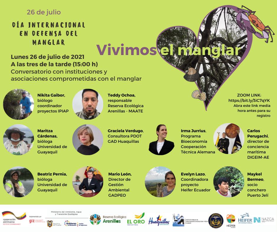 Celebracion del Dia Internacional en defensa del manglar Vivimos el Manglar